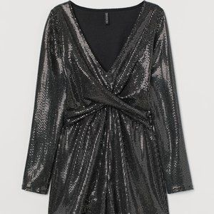 NWT H&M Shimmery Romper XS